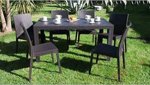 tavoli da giardino rattan tavolo e sedie da giardino poltrone set rattan terrazzo bar