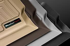 Ford F250 Truck Mats - weathertech ford f 250 2017 digitalfit molded floor liners