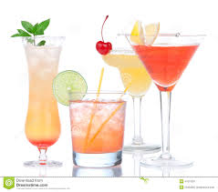 tropical cocktail silhouette tropical drinks stock image image of caribbean tropics 29715569