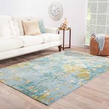 Blue Area Rugs 8 X 10 Hand Knotted Abstract Blue Area Rug 8 U0027 X 10 U0027 Free Shipping