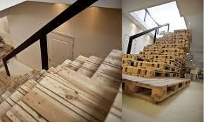 treppe selbst bauen wie treppen mit paletten bauen treppen treppe