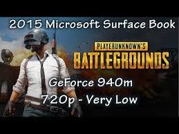 pubg 720p microsoft surface book 2015 pubg 720p youtube