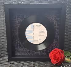 Personalized Record Album Vinyl Record Cabinet Vinyl Record Rack Etsy Crafts Album