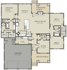 Three Bedroom House Floor Plans Craftsman Plan 132 200 Great Bones Could Be Changed To 2