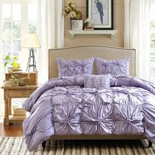bedroom gorgeous mandy ruffle purple bedding set purple bedding