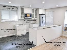 ikea kitchen cabinet back panel detailed ikea kitchen cover panels guide