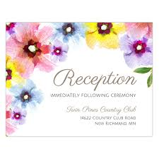 wedding reception cards wedding reception cards