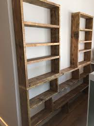 Bookcase Shop Huge Reclaimed Scaffold Board Shelving Unit For The Paddle Coffee