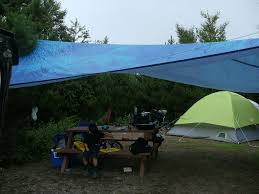 How To Build A Tent by Rain Tarp Design 5 Steps With Pictures