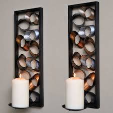 Metal Sconces Charming Sconces Wall Large Candle Lamps And Wooden And Metal