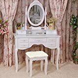 Makeup Table Amazon Com Makeup Vanities U0026 Vanity Benches Bedroom Furniture