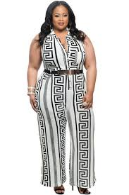 white and gold jumpsuit wholesale plus size white print gold belted jumpsuit