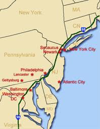 northeastern cus map northeast driving tour east road trip