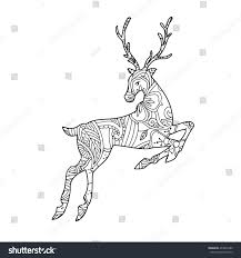 coloring pages of deer heads contegri com
