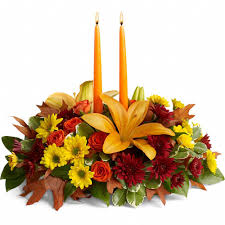 time to treasure centerpiece send thanksgiving flowers