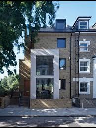 Modern Narrow House Modern Narrow Facade Houzz