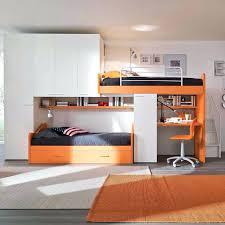 warm white youth bedroom furniture sets orange kids bedroom