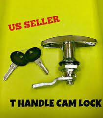 cabinet keyed cam lock lot of 2 t handle latch key cam lock keyed alike locker cabinet
