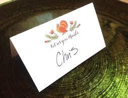 free thanksgiving place card printable adori designs custom