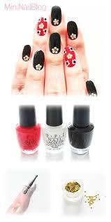 retro nail art design nailbees