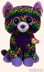 trixie large ty beanie boos leopard