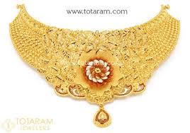 fine gold necklace images 22k fine gold choker necklace jpg