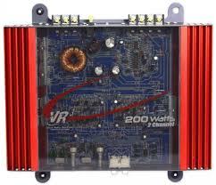 vr3 vra2 0 100 watt rms 200 watt peak 2 channel car amplifier