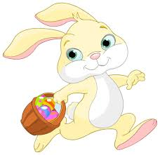 easter bunny baskets easter bunny clipart