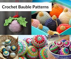 turn cheap baubles into gorgeous crochet baubles