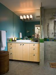 bathroom glass divider in amazing inexpensive bathroom remodeling