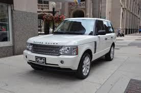 land rover supercharged white 2007 land rover range rover supercharged stock gc1432 for sale