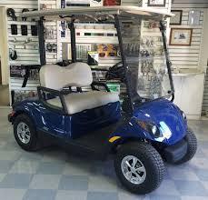 2016 yamaha electric golf cart blue johnson manufacturing