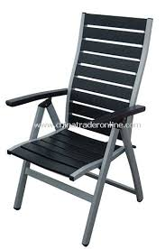 Patio Folding Chairs Wholesale Outdoor Patio Wood Plastic Composite Slat 5 Level