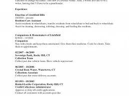 Professional Cleaner Resume Good Cna Resume Sample Sample Cna Resume Skills Job Resume Cna