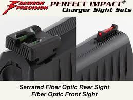 dawson precision walther ppq p99 fixed charger sight set fiber
