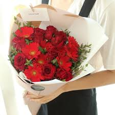 flower delivery reviews fiery flower bouquet flower delivery south korea 320 5