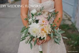 how to make wedding bouquet diy wedding flowers