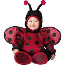 18 Month Halloween Costumes Boys Itty Bitty Lady Bug Halloween Costume Infant Size 12 18 Months