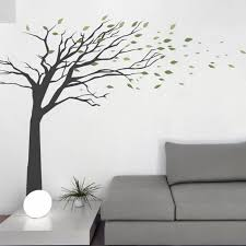 vinyl wall decals allow living walls to flourish home design