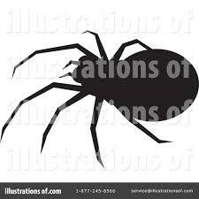 halloween spider clipart black and white spider clipart 41514 illustration by prawny