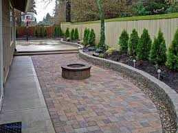 Large Pavers For Patio Fabulous Backyard Paver Patio Outdoor Building Ideas Backyard