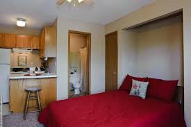 Small Apartments by Campus Studio Apartments Pierce Properties Nwa
