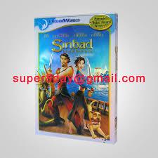 sinbad legend of the seven seas disney dvd cartoon dvd movies