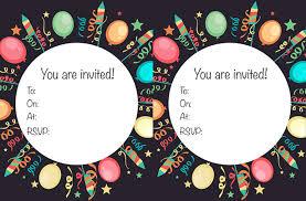 free printable children s birthday invitations goodtoknow