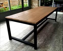 cuisine bois acier cuisine bois table de cuisine bois acier