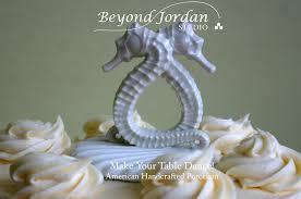 seahorse cake topper porcelain seahorse cake topper beyond studio
