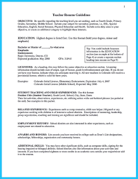 Preschool Teacher Resume Examples Special Education Teacher Assistant Resume Examples