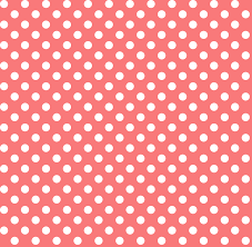 Polka Dot Wallpaper Polka Dots 2 Coral Wallpaper Misstiina Spoonflower