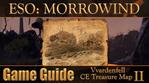Stonefalls Ce Treasure Map Eso Morrowind Vvardenfell Ce Treasure Map Ii Youtube