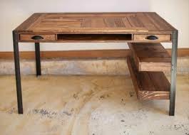 plan pour fabriquer un bureau en bois bureau en palette modèles diy et tutoriel pour le fabriquer soi même